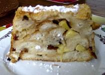 Francouzská toastová pikantní pečená jablka