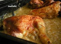 Kuře na zelí (recept od dědy)