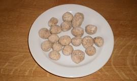 Masové knedlíčky do polévky z kuřecí sekané