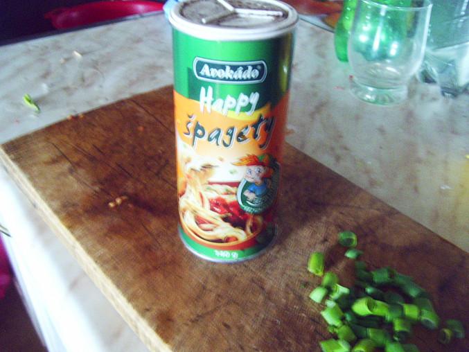 koření na špagety...