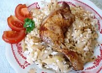 Zelí - kuře - rýže - bomba !