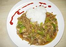 Čína z bambusových výhonků a kuř. masa