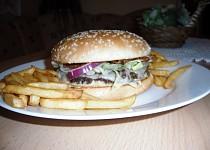 Homemade hamburger's