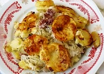 Jemné zapečené brambory