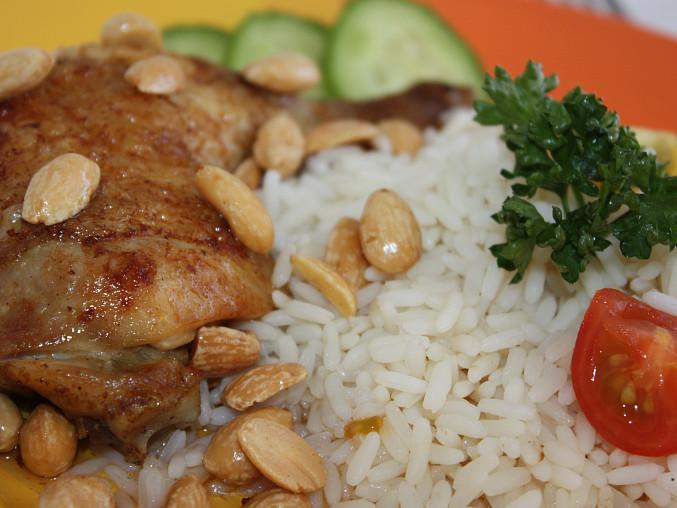 Mandlové kuře