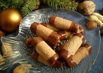 Ořechové trubičky