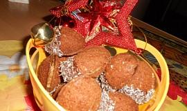 Plněné ořechy z kakaa