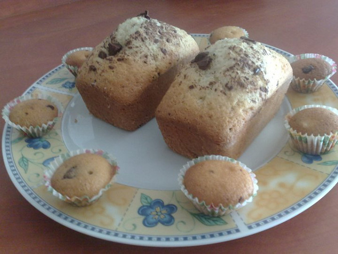 moje maxi a mini muffinky pdole tohoto receptu :)