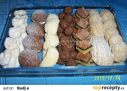 Vanilkové rohlíčky a bábovičky paní Rychnovské