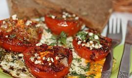 Venkovská rajčata s vejci