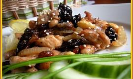 Kuřecí maso se sušenými švestkami