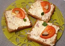 Nepravé humrové chlebíčky
