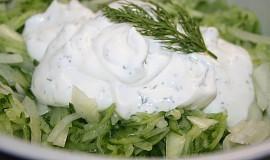 Okurkový salát s koprem II.