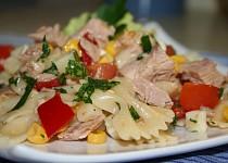 Petin těstovinový salát s tuňákem