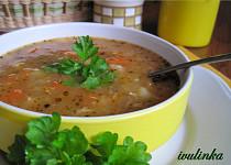 Hlívová polévka se zeleninou