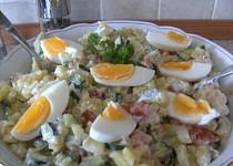 Lehký dietní bramborový salát