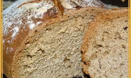 Nekynutý chléb z podmáslí a piva