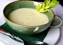 Polévka z řapíkatého celeru - pre priateľku M.