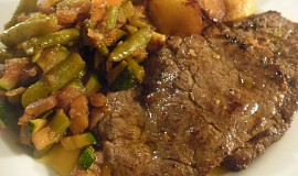 Steak podle Bruce Willise