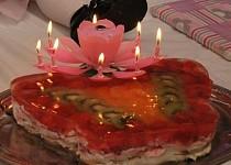 Nepečený dort k 1.narozeninám