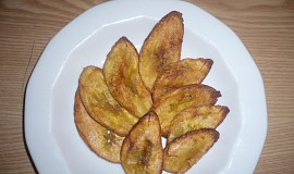 Smažený plantain (banány)