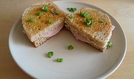 Šunkovo-sýrové sendviče