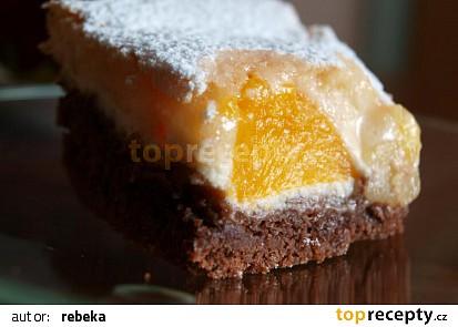 Tvarohový koláč  - Tříbarevný