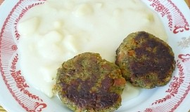 Brokolicové karbanátky s mrkvičkou