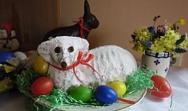 Velikonoční beránek ( hrnkový )