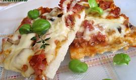 Pizza na celý plech