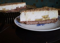 Banánovo-karamelový dortík