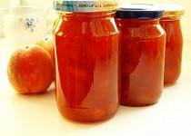 Broskvová marmeláda z DP