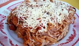 Maminčiny zapékané špagety