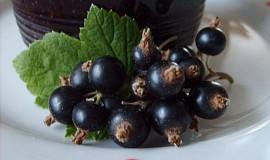 Marmeláda - rosol z černého rybízu - nevařená