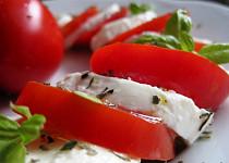Mozzarella s rajčaty