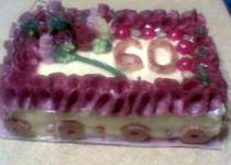 Slaný dort prvotina