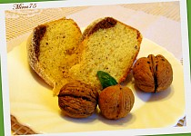 Bábovka s ořechy