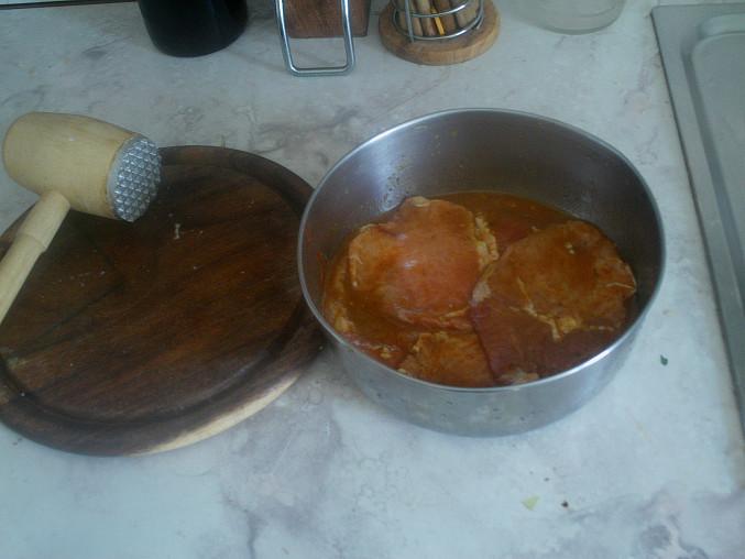 Ďábelské řízky, mäso v páci a šup do chladničky