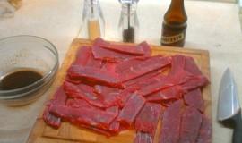 Domácí sušené maso - jerky