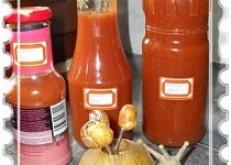 Kečup bez vážení a zavařování