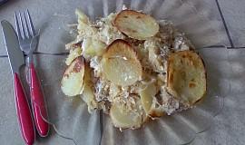 Mleté maso na zelí s brambory