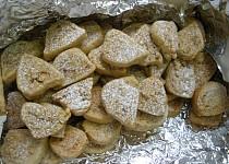 Ořechové roládky - cukroví