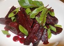 Salát z červené řepy s medem