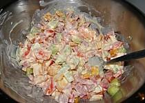 Těstovinový salát Myška