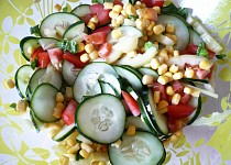 Zeleninový salát k masu