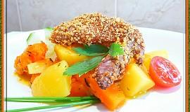 Dýňové brambory s tymiánem