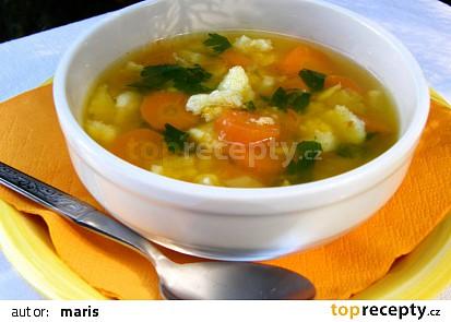 Falešná slepičí polévka (z tykve)