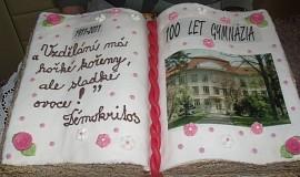 Kniha k výročí 100 let gymnázia