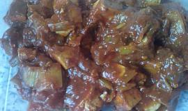 Marinované tofu na rajčatech