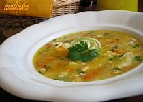 Mrkvová polévka s krupičkou - recept ze školky
